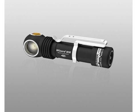Фонарь Armytek Wizard WR Magnet USB + 18650 / Белый и красный свет / 1000 лм и 250 лм / TIR 70°:120