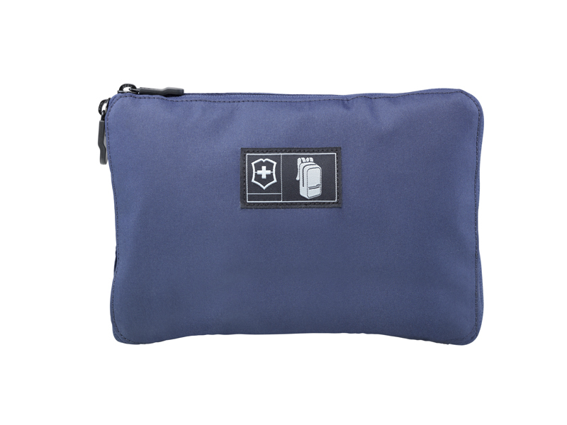 ЛЕГКИЙ СКЛАДНОЙ РЮКЗАК VICTORINOX Packable Backpack, синий, полиэстер 150D, 25x14x46 см, 16 л (601801) | Wenger-Victorinox.Ru