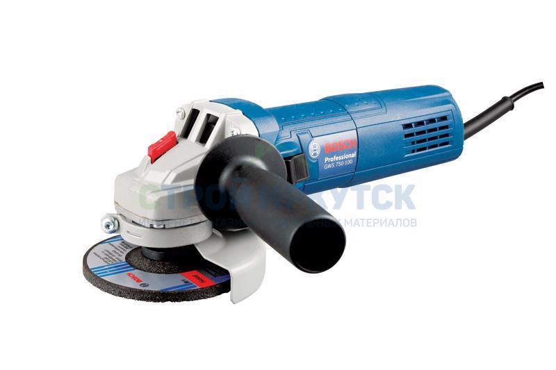 Шлифовальные машины Угловая шлифмашина Bosch GWS 750-125 (06013940R3) 44a9983205c2a086030bf847a1411a28