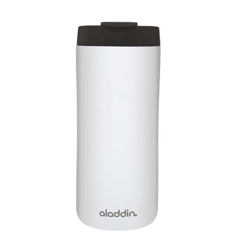 Термокружка Aladdin (0,35 литра) из нержавеющей стали, белая