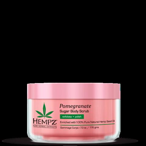 Скраб для тела Сахар и Гранат / Hempz Body Scrub - Sugar & Pomegranate