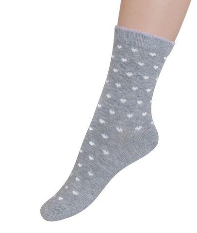 Носки для девочки Мелкие сердечки Para soks