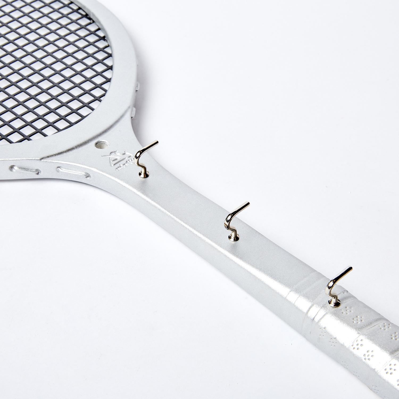 Вешалка-ключница серебряная