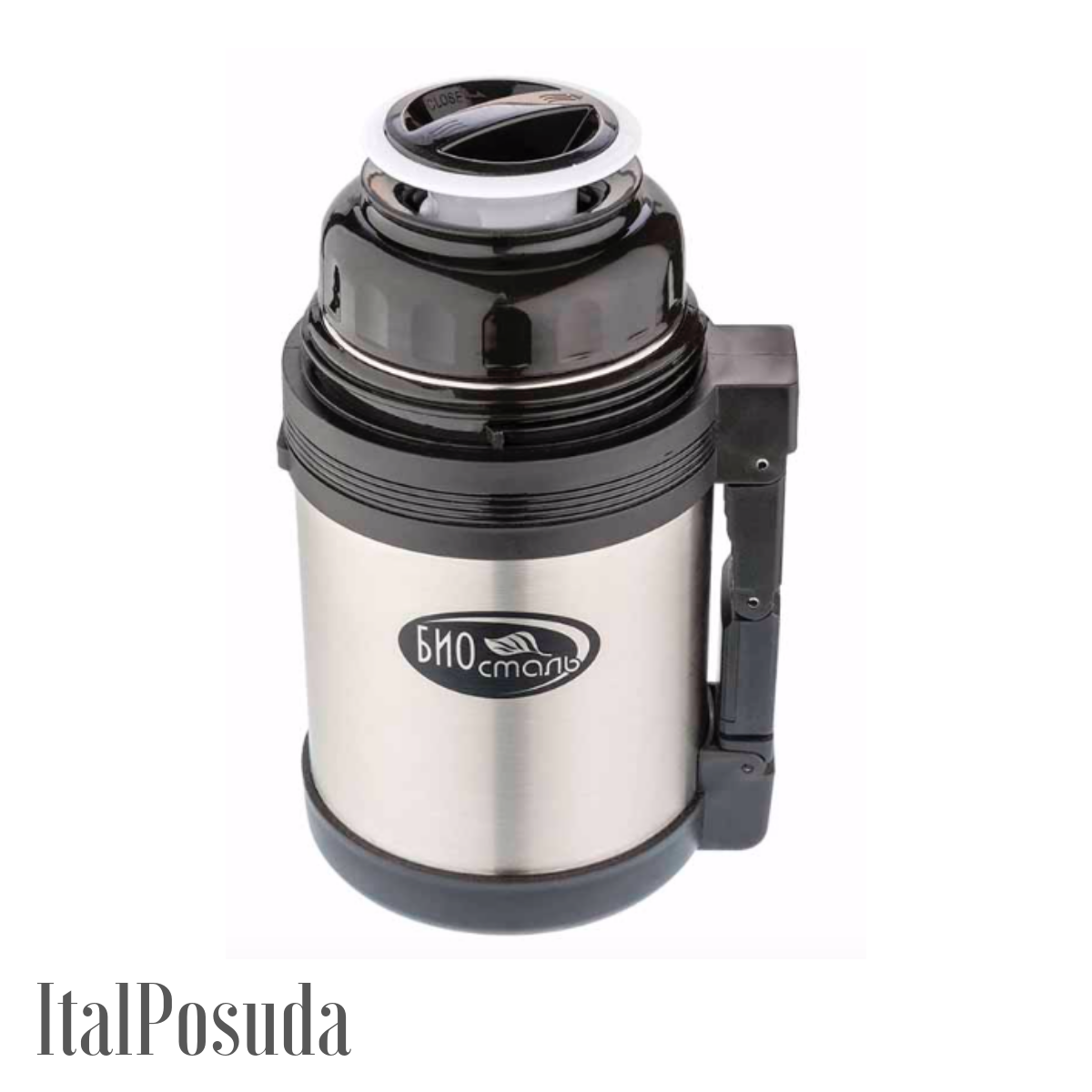 Термос с ручкой Biostal NG-1200-1 / 1,2 литр