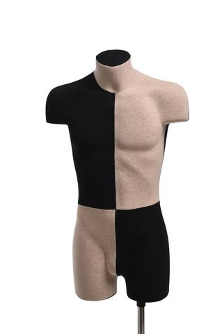 Демонстрационный мужской манекен с выраженным рельефом 48 размер (домино)