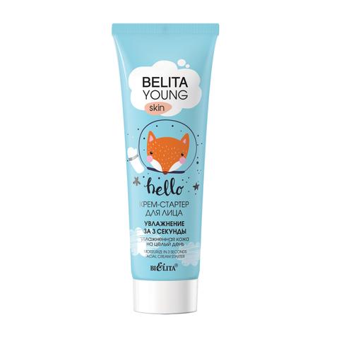 Belita Young Skin Крем-стартер для лица «Увлажнение за 3 секунды» 50мл