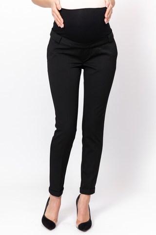 Утепленные брюки для беременных 12102 черный