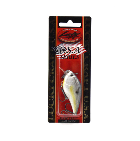 Воблер Lucky Craft LC 1.5 - 172 Sexy Chartreuse Shad