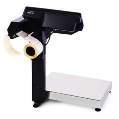 Весы с печатью этикеток Масса-К MK-15.2-RP10, 15кг, 2-5гр, 336x240, со стойкой, без подмотки этикеток
