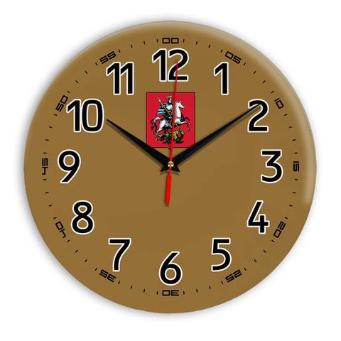 Интерьерные часы герб Москва 11