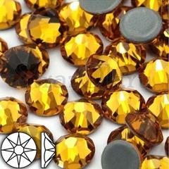 Купить термостразы оптом Xirius 8+8 Topaz желтые