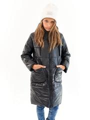 Пальто для девочки Классик черный