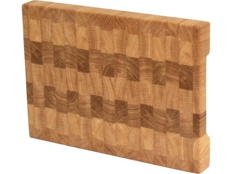 Разделочная  доска торцевая из дуба  кухонная ручной работы столярная мастерская EtWood