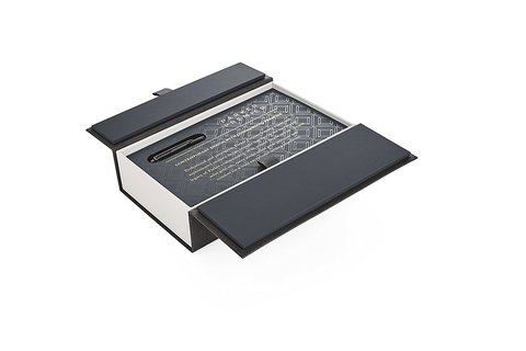 Ручка перьевая Parker Premier Monochrome Black123