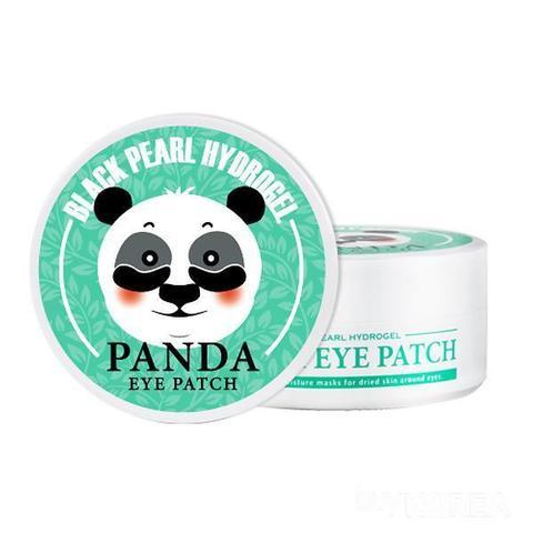 Organia Black Pearl Hydrogel Panda Eye Patch гидрогелевые патчи с черным жемчугом для кожи вокруг глаз