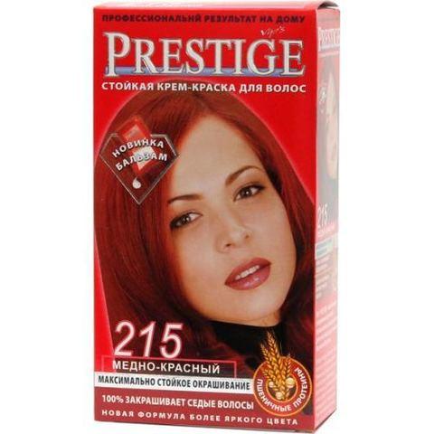 Краска для волос Prestige 215 - Медно-красный, 50/50 мл.
