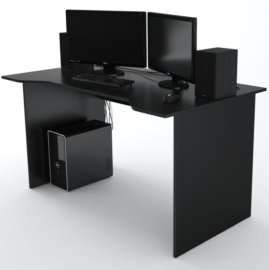 Стол Компьютерный Jedi 1400 Черный