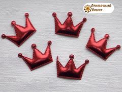 Мягкие короны средние красные № 1