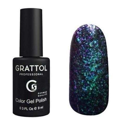 Гель-лак GRATTOL Galaxy 001 Emerald 9мл
