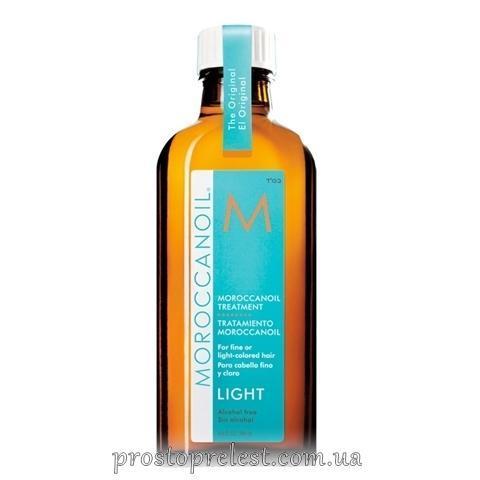 Moroccanoil Light Oil Treatment - Восстанавливающее масло для тонких и светлых волос