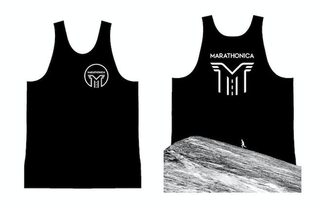 Майка клубная GRi marathonica, черная, мужская