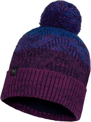 Шапка вязаная с флисом Buff Hat Knitted Polar Masha Purplish фото 1