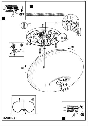 Светильник Eglo OPTICA 86811 7