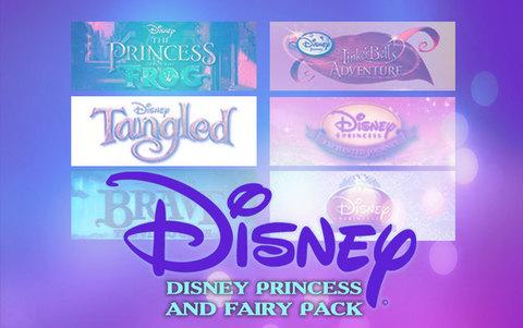 Disney Princess and Fairy Pack (для ПК, цифровой ключ)