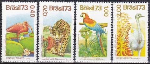 Бразилия 1973 №1415-8 **MNH