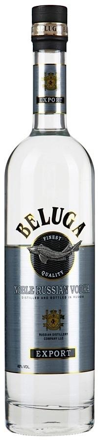 Русская водка Белуга 1л 40%