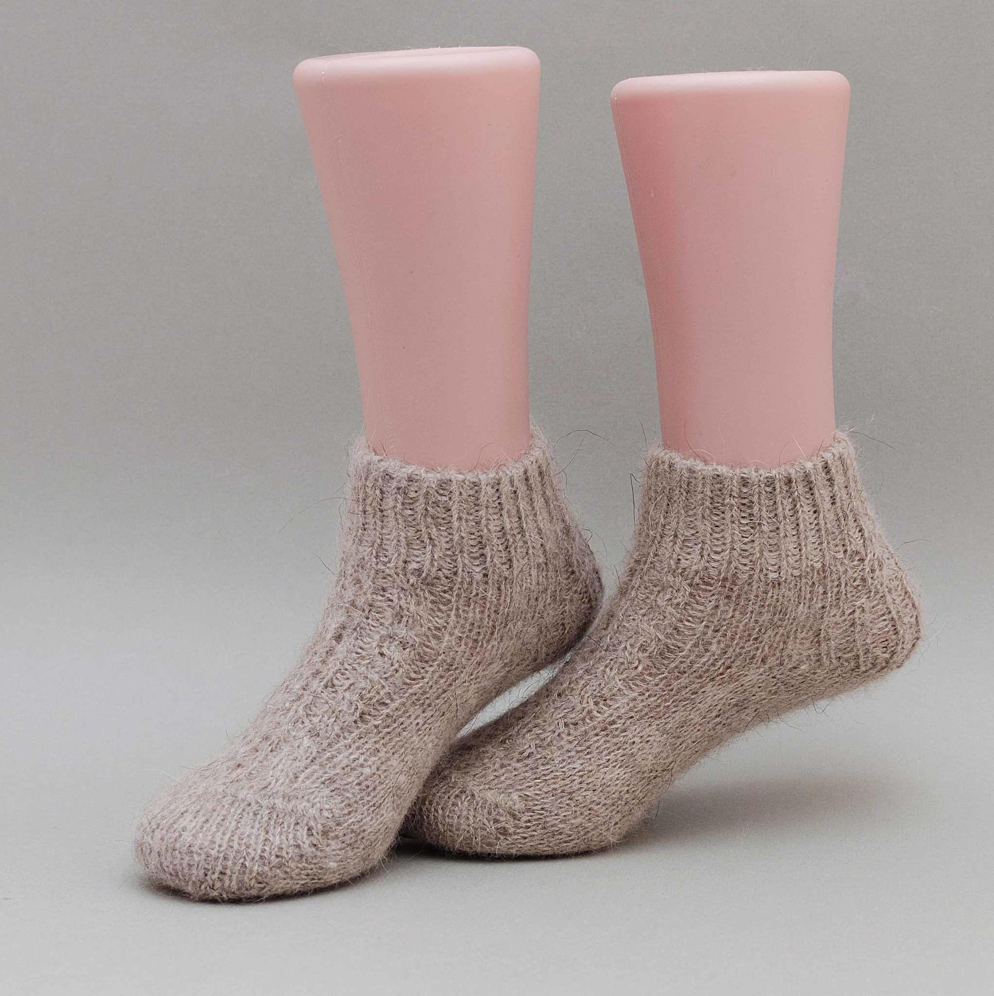 Детские носочки из ангоры и кашемира
