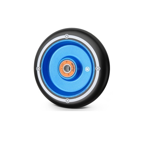 купить колесо для трюкового самоката Flat Solid 100 мм синий/черный артикул 321046