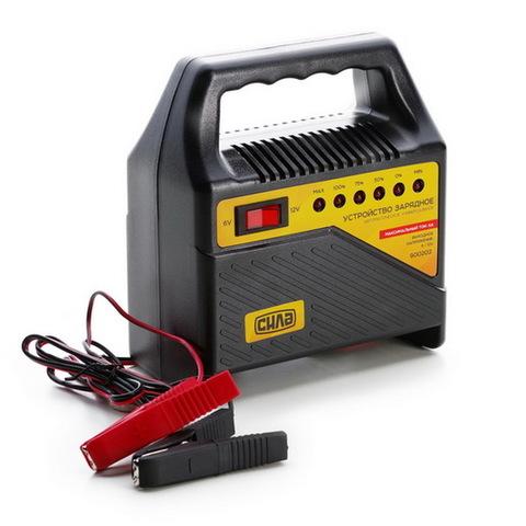 Устройство зарядное 6A, 12V (светодиодный индикатор) (СИЛА - Инструмент)