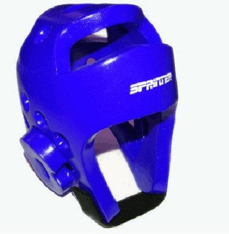 Шлем для тхеквондо. Размер L. Цвет синий. (ZTT-002С-L)