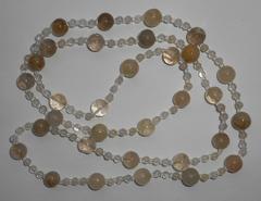Ожерелье из рутила, 88 см