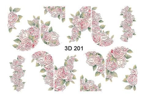 3D слайдер для ногтей, 3D -201