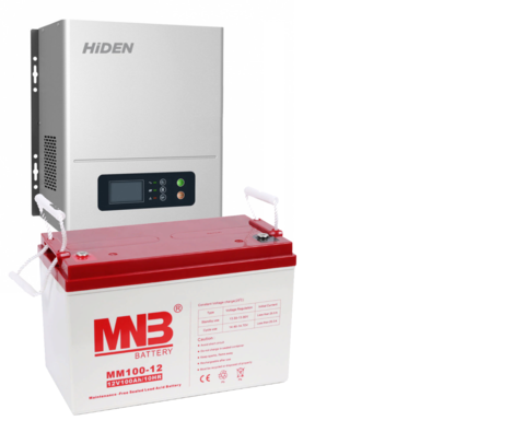 Комплект HIDEN HPS20-0312N+MM100