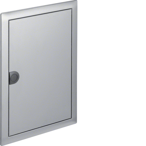 Наружная рамка с дверцей для встраиваемого щитка Volta,2-рядного, нерж.cталь