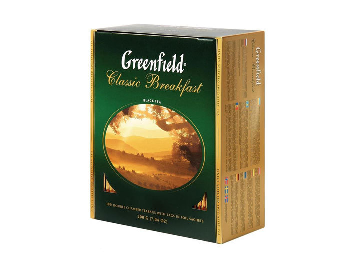 Greenfield Classic Breakfast, 100 пак/уп