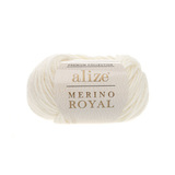 Alize Merino Royal молочный 62