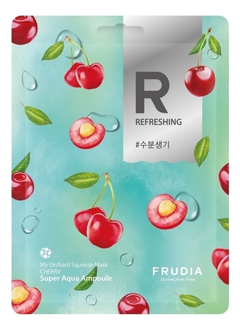 FRUDIA Разглаживающая маска с для лица с вишней (20мл) / Frudia My Orchard Squeeze Mask Cherry