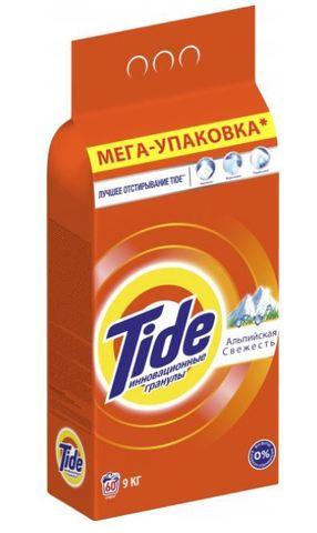 Стиральный порошок Tide Альпийская свежесть 9 кг Автомат