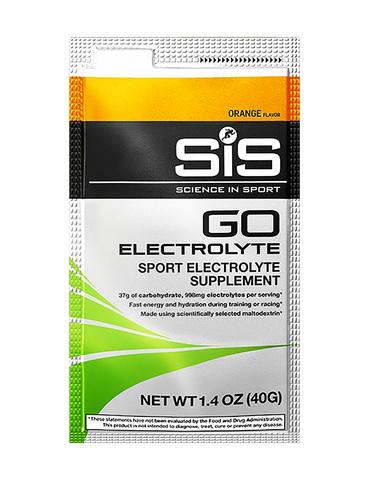SIS GO Напиток углеводный с электролитами в порошке, вкус Апельсин , 40 гр