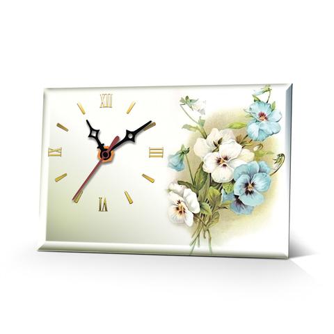 Настольные часы Цветы