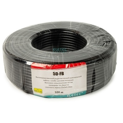 ВЧ кабель ELETEC 5D-FB CCA PE
