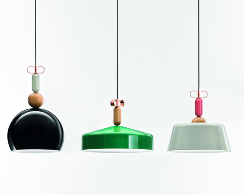 Подвесной светильник копия Bon Ton N2C1 by YUUE Design Studio (зеленый)