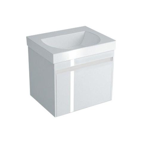 Тумба (1+1 ящик) с раковиной Kerama Marazzi Buongiorno 60 белый