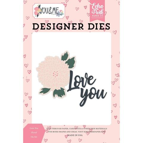 Набор ножей - Echo Park Dies Love You Floral