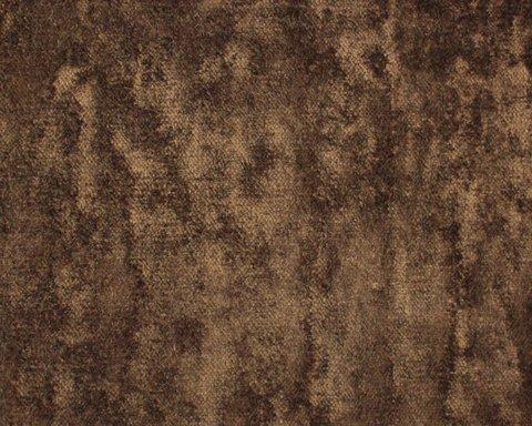 Портьерная ткань Солярис бархат однотонный темно-коричневый