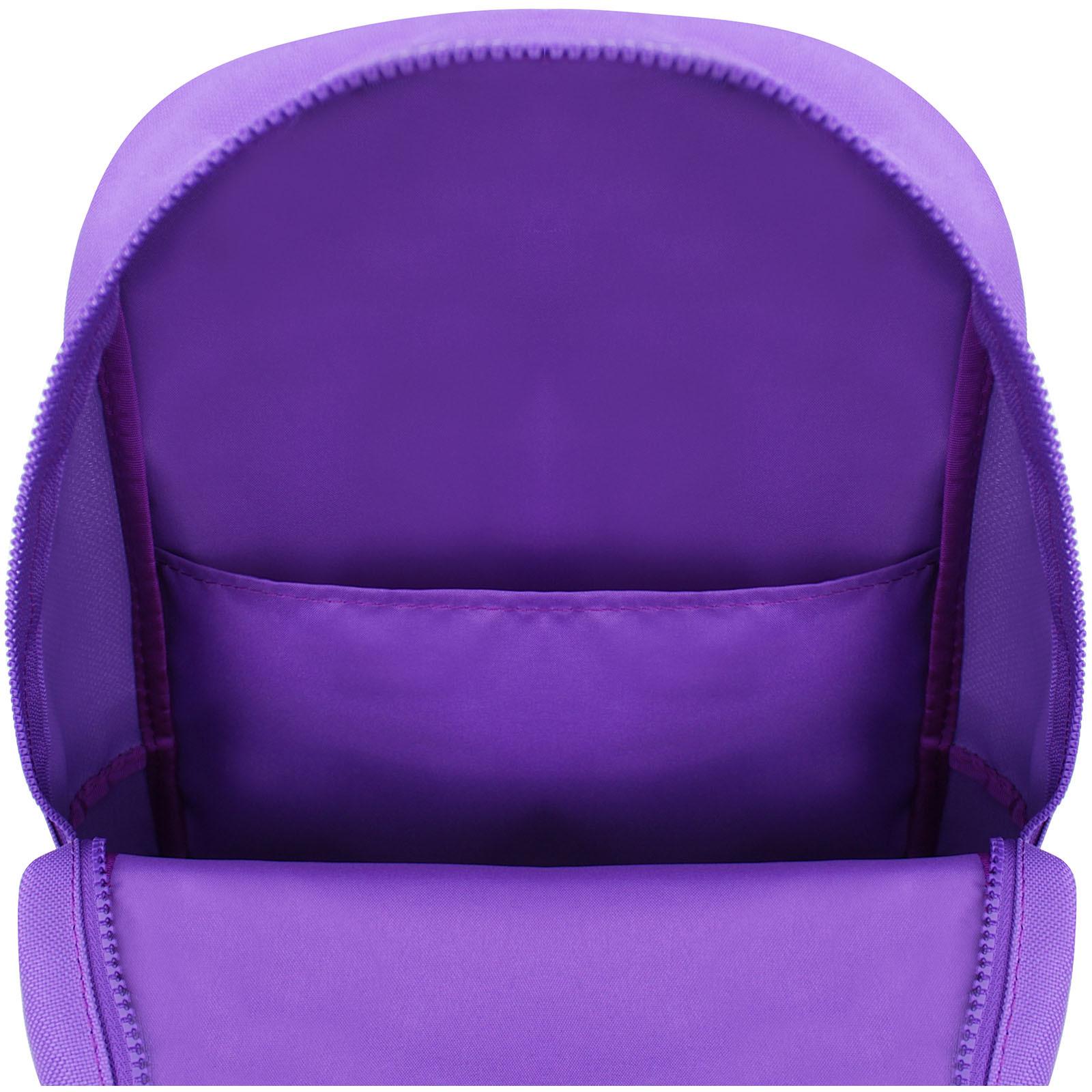 Рюкзак Bagland Amber 15 л. фиолетовый/электрик (0010466) фото 4